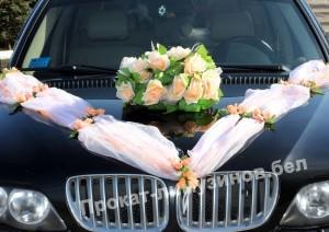 аренда украшений для свадебных авто
